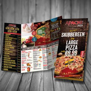 MAP3676 Portadown now open menu sterling inside NEW